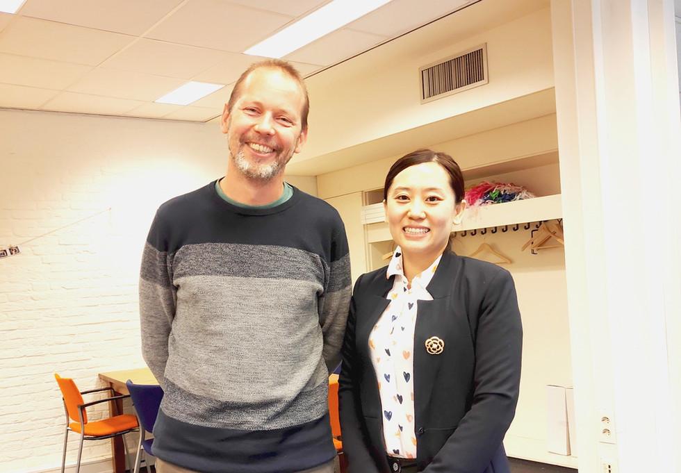 Shirley Han meets Joris van Poecke from Maastricht University