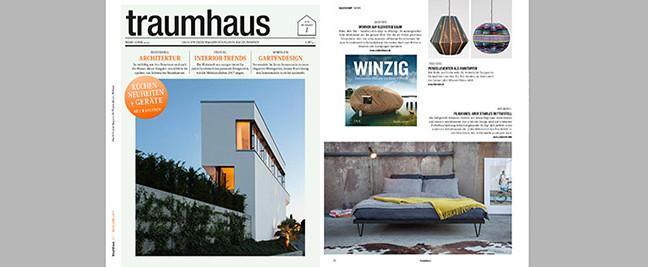 pan mobili in der Märzausgabe von TRAUMHAUS