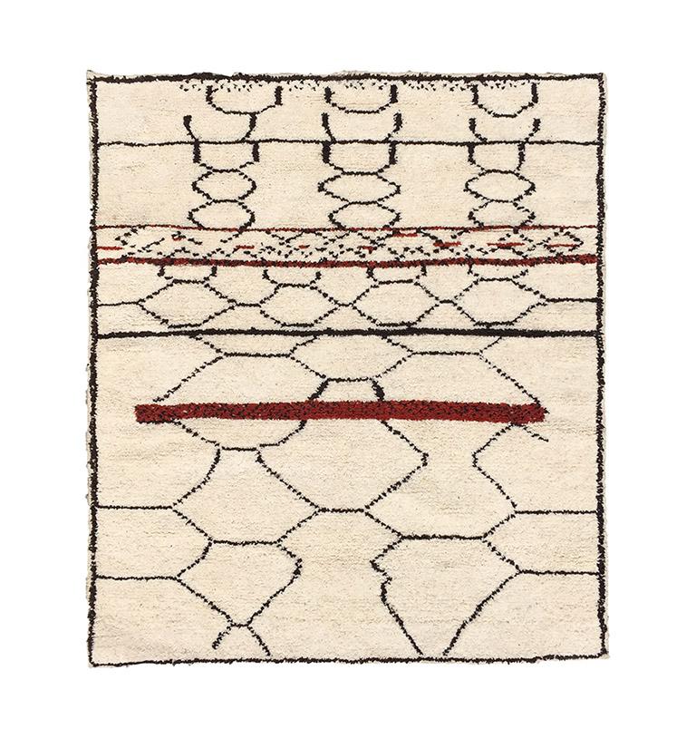 Carpets Beni Ourain - Pattern 3