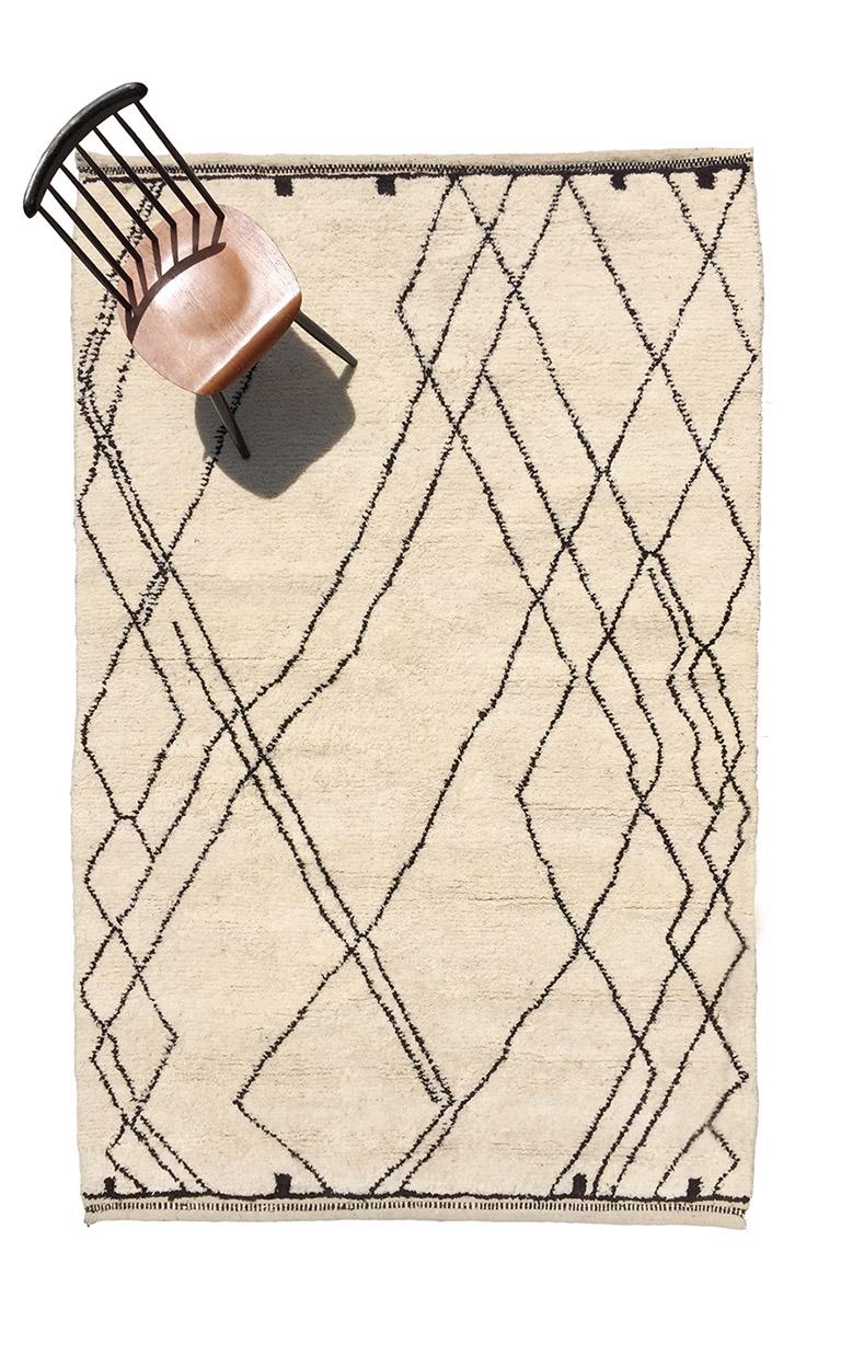 Carpets Beni Ourain - Pattern 2