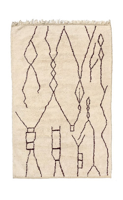 Carpets Beni Ourain - Pattern 1