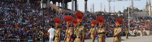 Border Ceremony, India