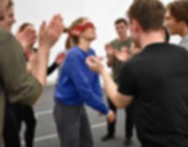 Imogen Hudson-Claton, Facilitator, To&Fro Theatre Workshop.