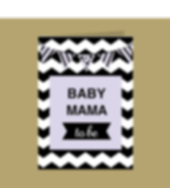 Baby Mama To Be Giftcard
