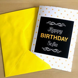 Birthday Giftcard Example