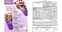 Cartazes e notas fiscais