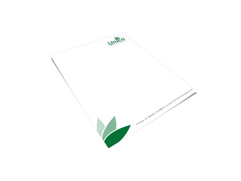 Papeis timbrados e cartas