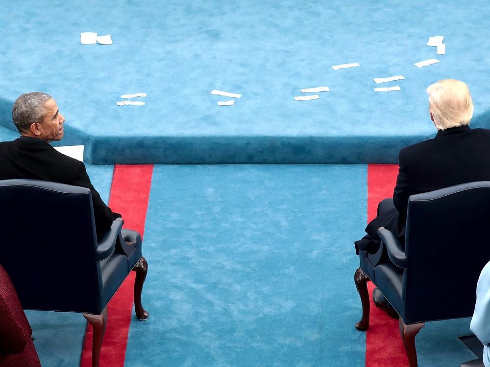 Obama, Trump (Photo Credit: Scott Olson / Getty Images)