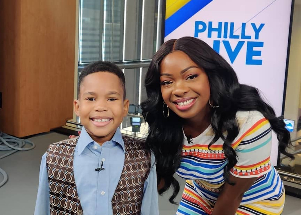 Ja'Siah Young and Aunyea Lachelle on NBC10's Philly Live.