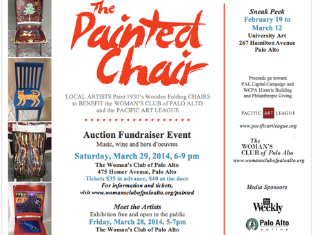 Painted Chair Project: Meet The Artists Event