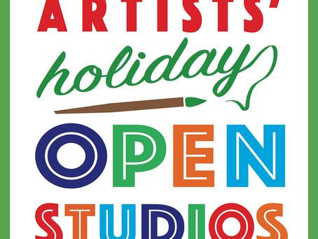 Redwood City HolidayRedWood City  Open Studio, Dec 3,4