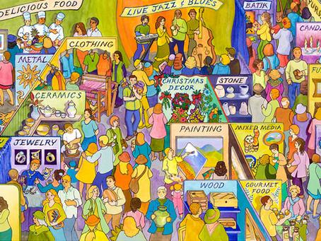 Sacramento Art Festival- On Line Market - Support Artists