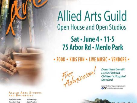 ArtFest – Allied Arts Guild – Open House and Open Studios