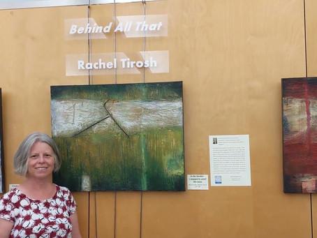 Solo exhibition at Los Altos Library