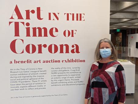 """Art in the Time of Corona"" exhibition. Los Gatos Museum - Numu"