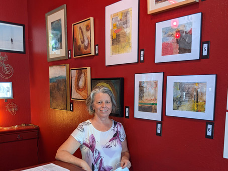Solo exhibition at Red Rock Coffee