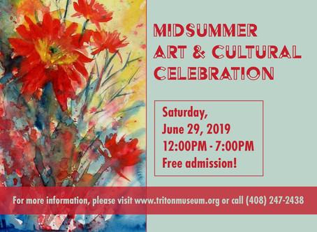 Midsummer Art & Cultural Celebration at the Triton Museum, Santa Clara