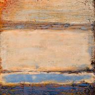 Sun Set in the ocean - SOLD