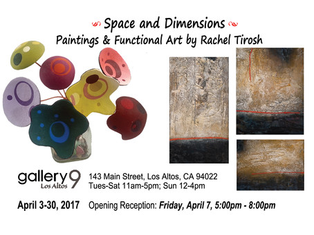"""GALLERY 9 FEATURING """"SPACE and DIMENSION"""""""