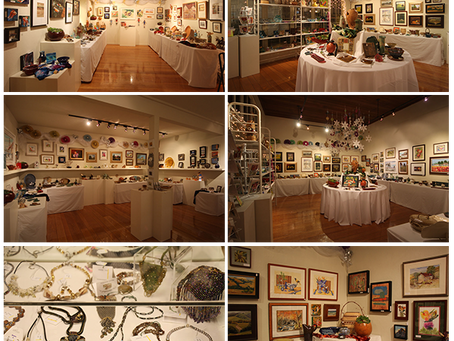 """Olive Hyde Gallery """"Holiday for the Arts"""" Show & Sale"""