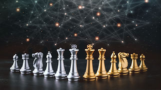 business-control-chess-board-game-business-strategy-tactic-with-futuristic-graphic-icon-ta