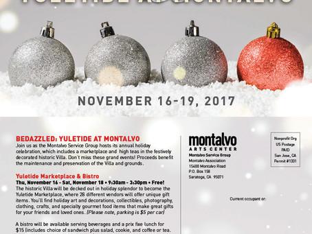 Montalvo Yuletide Bedazzled Marketplace Nov 16-18