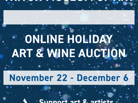 The Triton Museum of Art's Holiday Online Auction: November 22 - December 6, 2020