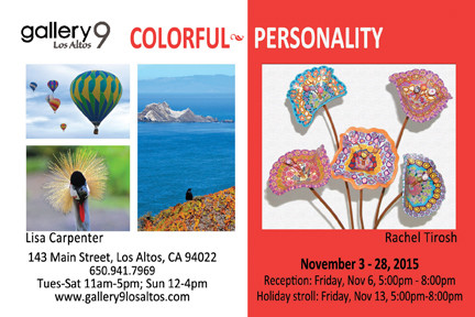 November Feature Artist at Gallery 9