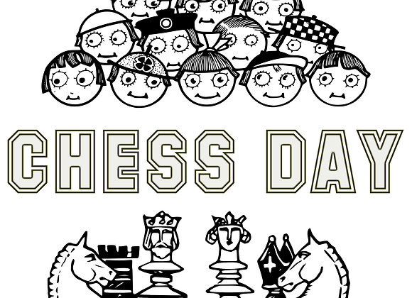 Art and Chess Time - Chess Day and Knight