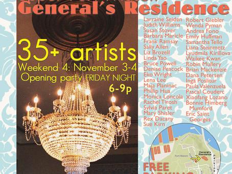 San Francisco Open Studio Weekend, Nov 3 – 4