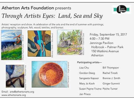 Through the Artists Eyes: Land, Sea & Sky