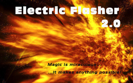 Electric Flasher Rechargeable