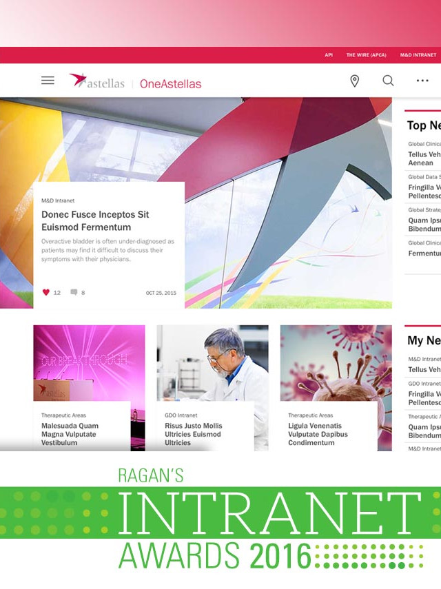 Astellas (Intranet)