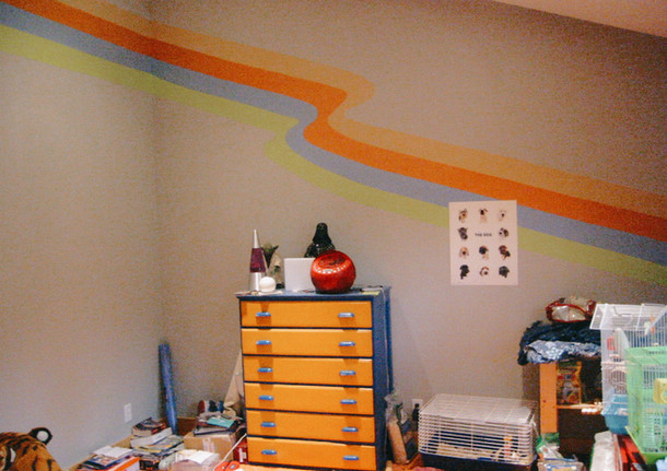 Bedroom Wall Groovy Paint