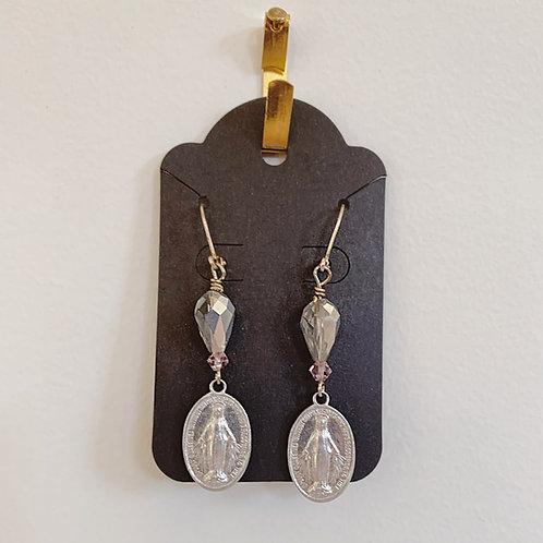Virgin Mary Earrings