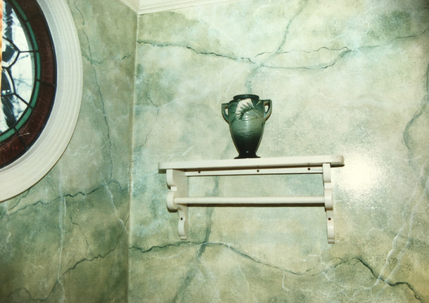 painted marble slabs