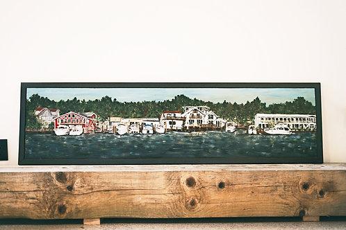 Saugatuck River Landscape  Painting