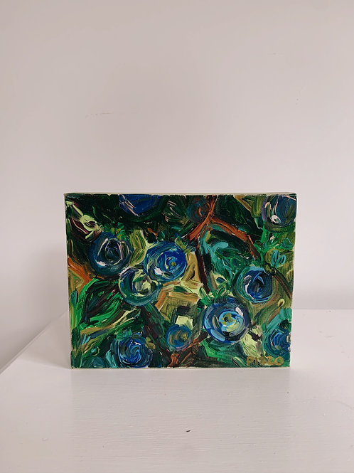 Gallery wrap blueberry