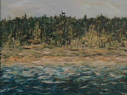 Lake Michigan/Dunes Acrylic on Canvas
