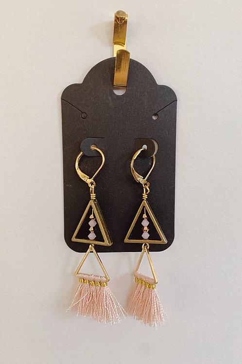 Triangle Bohemian Earrings