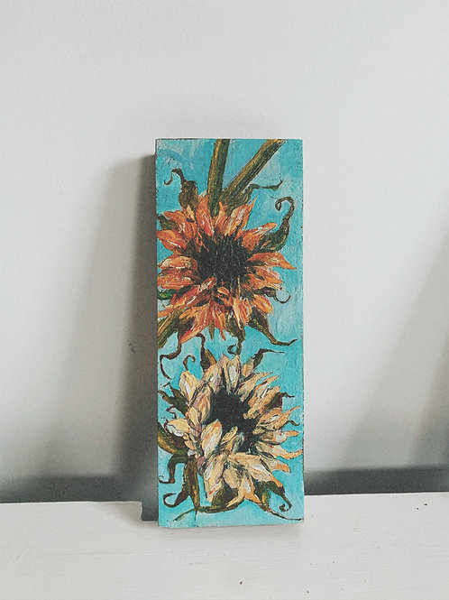 sunflowers' demise