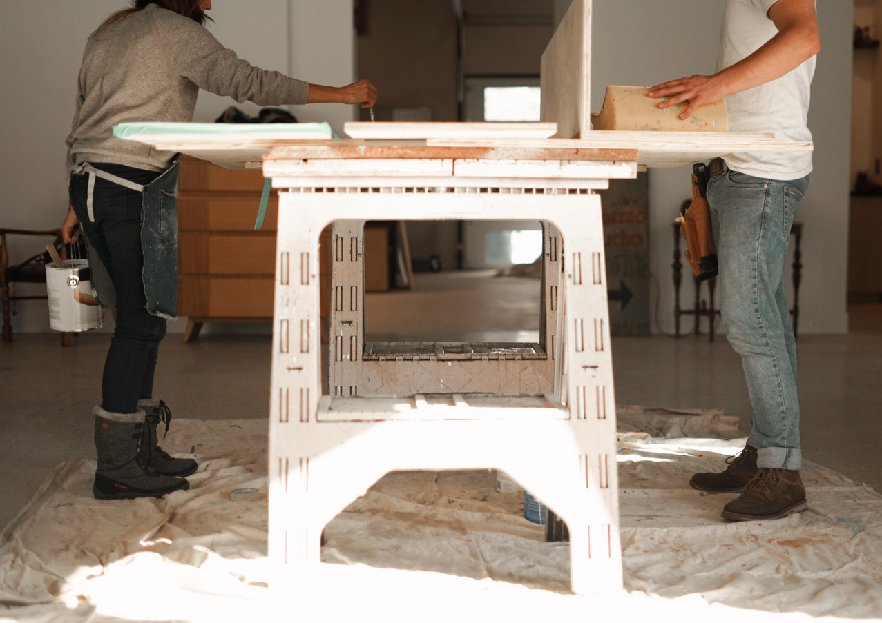 Painting Furniture to Match Building