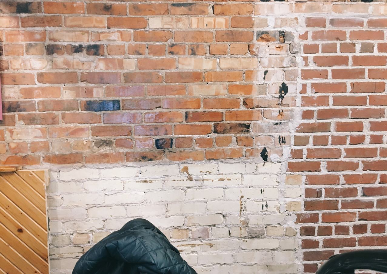 Before The Brick Repaint