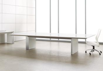 Nicraft Tavola Glass Conference Table