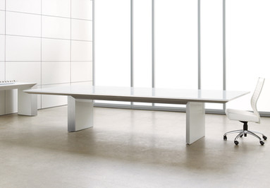 Nicraft Tavola Glass Conference Table