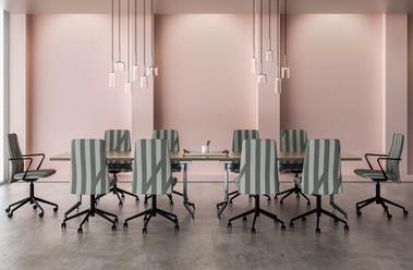 HBF Vela Mid Back Swivel Chairs