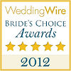 Our 2012 Brides Choice Award for Outstanding Wedding DJ Services