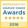 Our 2016 Brides Choice Award for Outstanding Wedding DJ Services