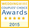 Voted Couples Choice for Best Wedding DJ 2015