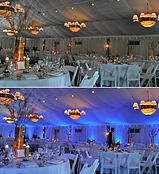 Syracuse, NY Wedding Up-lighting